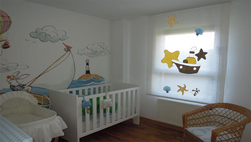 Hoza acogedora personales estores infantiles carrefour - Estores para habitacion de bebe ...